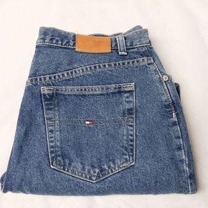 Tommy Hilfiger Boyfriend Jeans Sz 14 Medium Wash